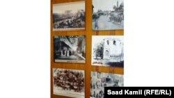 جانب من معرض الصور الفوتوغرافية عن حقبة الإحتلال العثماني للعراق