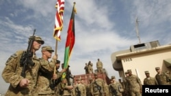 The U.S. would like its troops in Afghanistan to have immunity.