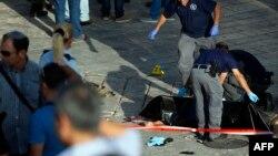 جسد یکی از حملهکنندگان با چاقو در بیتالمقدس