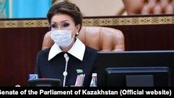Дарига Назарбаева в бытность председателем сената парламента Казахстана.
