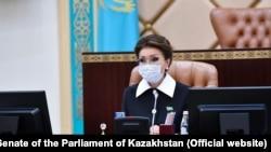 Дарига Назарбаева в бытность председателем сената парламента Казахстана