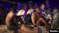 Migranți africani, imagine generică.