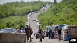 Пункт пропуску поблизу Артемівська, 6, травня 2015 року