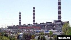 Ташкентская тепловая электростанция.