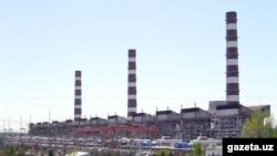 Тепловая электростанция в Ташкенте.