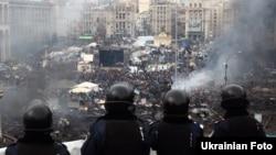Майдан Незалежності 18 лютого 2014 року