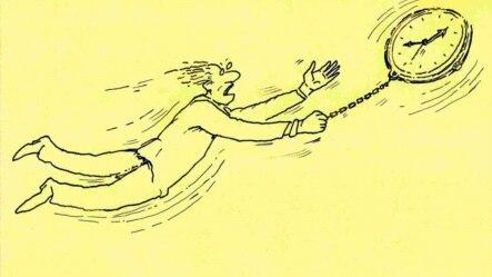 Rəşid Şerifn karikaturası.