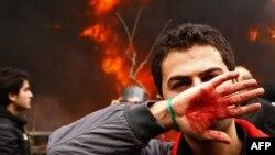 Իրան -- Նոր բախումներ ընդդիմության եւ իրավապահների միջեւ, 27-ը դեկտեմբերի, 2009թ.
