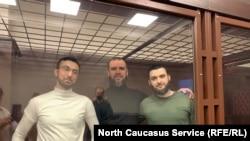 Кемал Тамбиев, Абубакар Ризванов и Абдулмумин Гаджиев