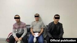 Узбекские мигранты, депортированные из Южной Кореи (Фото Агентства по вопросам внешней трудовой миграции)