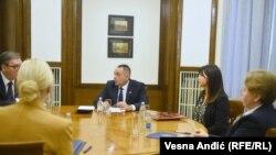 O slučaju Edina Vranja razgovarano je 14. oktobra na sastanku predsednika Srbije Aleksandra Vučića sa ministrom policije Aleksandrom Vulinom, republičkom javnom tužiteljkom Zagorkom Dolovac, tužiteljkom za ratne zločine i sekretarkom ministarstva pravde.