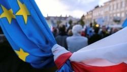Poljski protesti podrške članstvu u EU