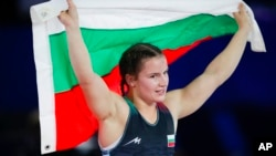 Биляна Дудова след победата си в Осло.