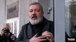 Головний редактор видання «Новая газета» Дмитро Муратов