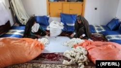 زنان تجارتپیشه پرورش پیله و ریسنده تارابریشم درهرات