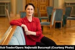 Laura Blică-Toader, directoarea Corpului de Balet al Operei Naționale București.