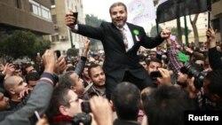 Прославата на Муслиманското братство по првата седница на новиот Парламент на Египет