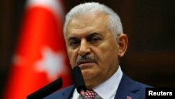 Թուրքիայի նորանշանակ վարչապետ Բինալի Յըլդըրըմ, մայիս, 2016թ․
