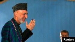Авганистанскиот претседател во заминување Хамид Карзаи