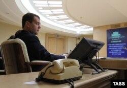 Дмитрий Медведев, председатель правительства России (2012-2020)