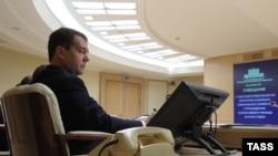 Премьер-министр России Дмитрий Медведев. Архивное фото.
