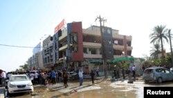 Pamje nga shpërthimet e bombave në Irak