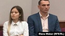 Жезқазқандық кәсіпкер Владимир Егоров (оң жағында). Қарағанды, қазан айы 2018 жыл
