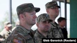 Військові інструктори США навчають українських військових, Рівненщина, 26 травня 2021 року
