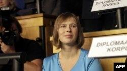 Presidentja e re e Estonisë, Kersti Kaljulaid