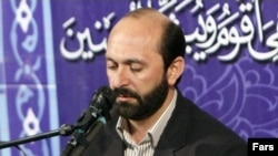 File photo - Saeed Toosi is a prominent Iranian Qur'an reciter and teacher, close to Iran's Supreme Leader Ali Khamenei