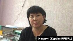 Исполняющая обязанности заместителя руководителя отдела образования города Актобе Гульназ Мырзагалиева.