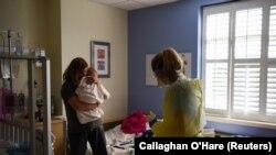 ABŞ-da koronavirusa tutulmuş uşaq