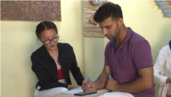 After Tragic Loss, An Afghan Refugee Finds Solace In Teaching Art To Others