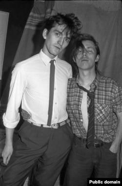 Тимур Новиков и Олег Котельников, 1984