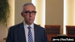 Ярослав Сивульський, голова Європейської асоціації свідків Єгови