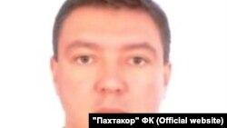 Генеральный директор футбольного клуба «Пахтакор» Рустам Купайсинов. Фото взято с официального веб-сайта ФК «Пахтакор».