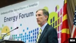 Macedonia - U.S. Ambassador Paul Wohlers spoke the Forum of Energy, 11 June 2014