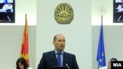 Министерот за финансии Кирил Миноски