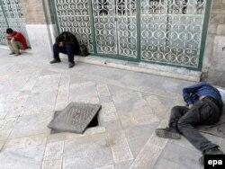 Tehranda narkomanlar