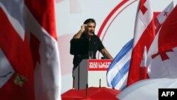 Саакашвили на митинге своих сторонников