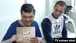 Yo'ldoshvoy Bozorov jiyani Iskandar bilan