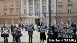 Borba za ženska prava: Protest u Zagrebu
