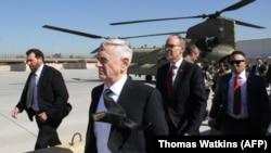 Міністр оборони США Джим Маттіс в Іраку, 20 лютого 2017 року
