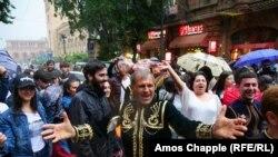 Yerevanda antihökumət etirazları, 8 may, 2018-ci il
