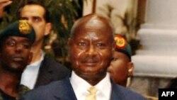 Претседателот на Уганда, Јовери Мусевени