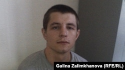 Андрей Коломиец в кабинете Центра «Э» в Нальчике, 9 июля 2015 года