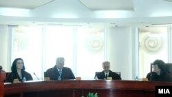 Седница на Уставен суд.