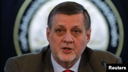 Jan Kubis, the United Nations special representative in Afghanistan