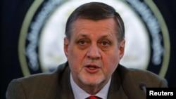 I dërguari i Kombeve të Bashkuara për Afganistanin, Jan Kubis.