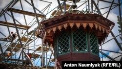 Разбитое наследие. «Реконструкция» Ханского дворца продолжается (фотогалерея)